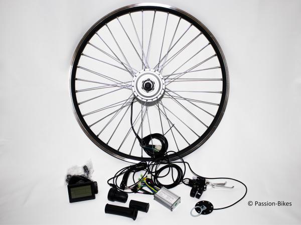 passion bikes e bike pedelec umbausatz kit 250 watt. Black Bedroom Furniture Sets. Home Design Ideas
