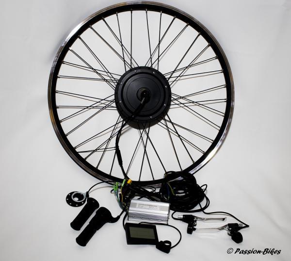 passion bikes e bike pedelec umbausatz kit 500 watt. Black Bedroom Furniture Sets. Home Design Ideas